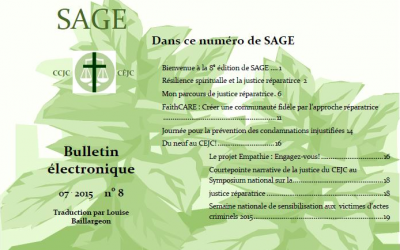 SAGE no. 8 maitenant disponible en francais